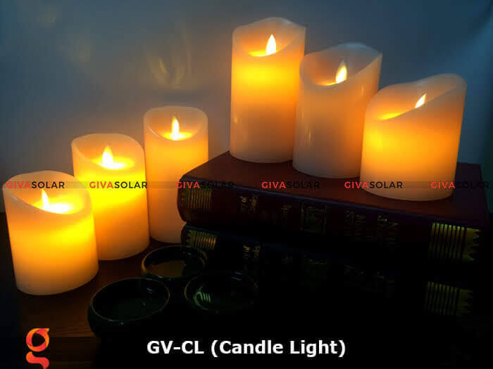 Đèn LED trang trí hình cây nến GV-CL 4