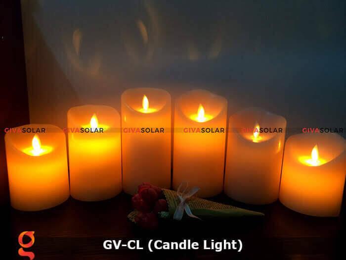 Đèn LED trang trí hình cây nến GV-CL 5
