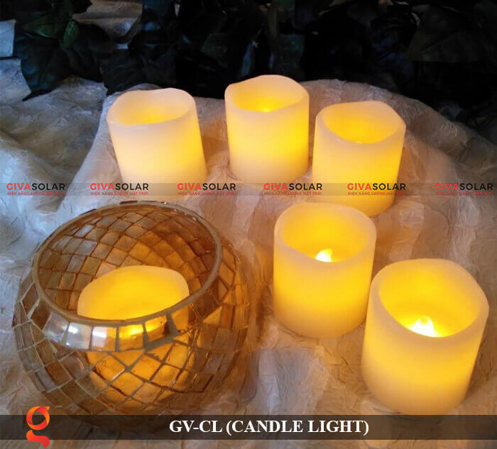 Đèn LED trang trí hình cây nến GV-CL 7