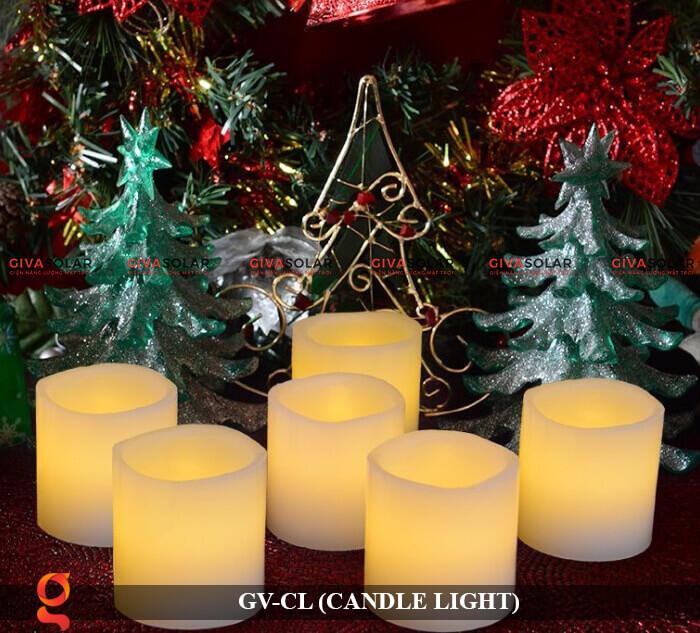 Đèn LED trang trí hình cây nến GV-CL 9