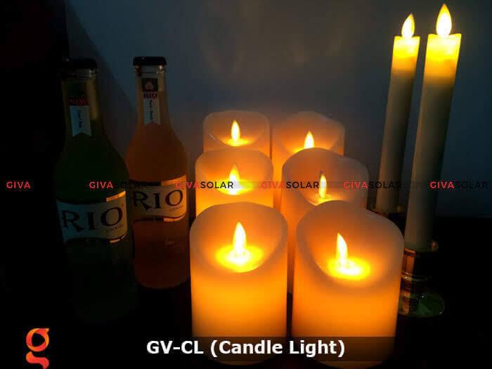 Đèn LED trang trí hình cây nến GV-CL 10
