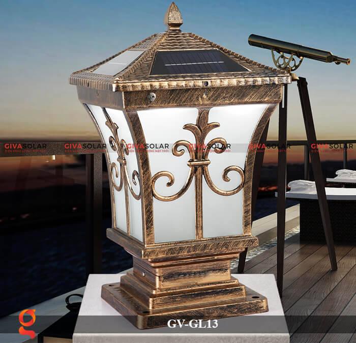 Đèn trụ cổng năng lượng mặt trời GV-13 2