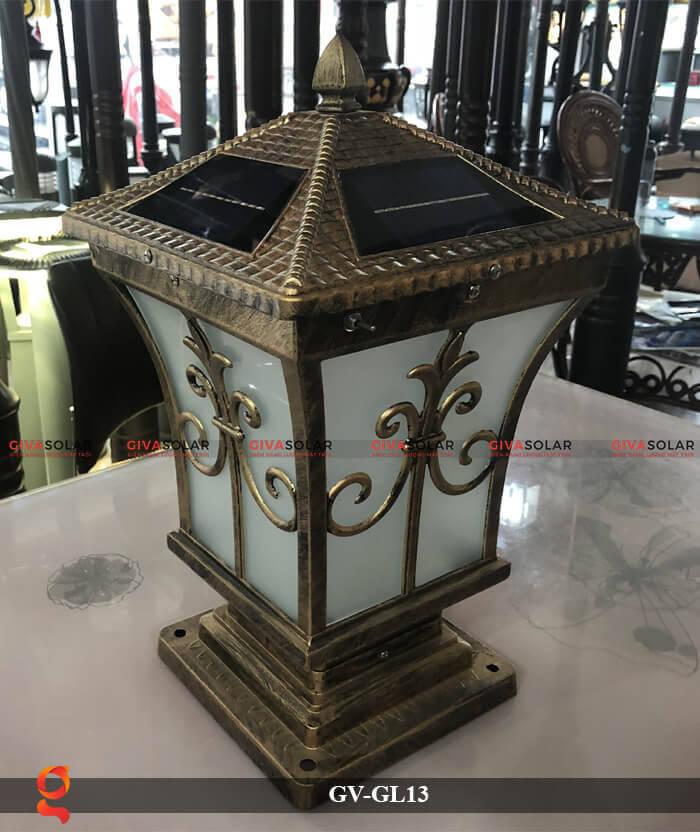 Đèn trụ cổng năng lượng mặt trời GV-13 3