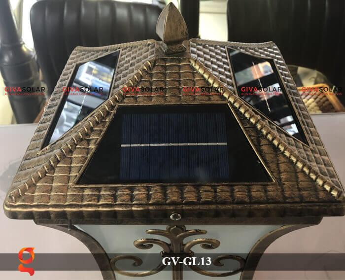Đèn trụ cổng năng lượng mặt trời GV-13 5
