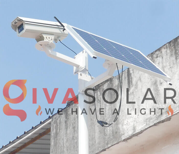 Tấm pin mặt trời cho camera an ninh là gì?