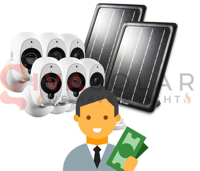 Ngân sách của bạn khi mua tấm pin năng lượng mặt trời cho camera là bao nhiêu?
