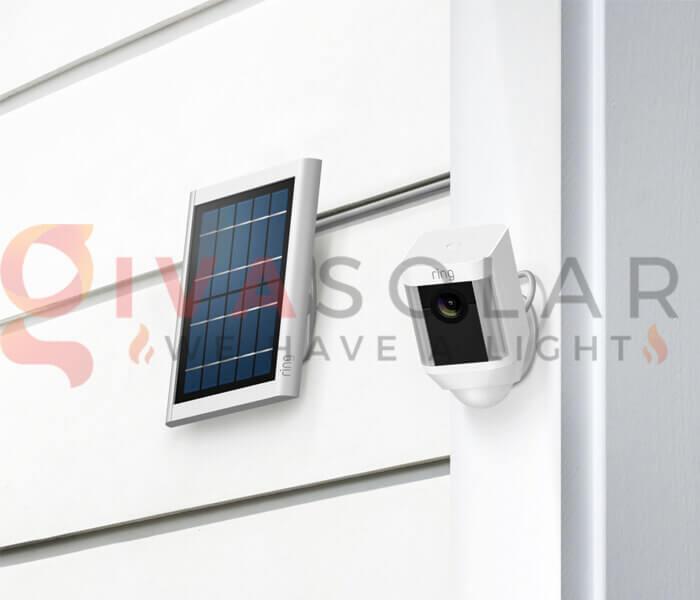 Cách chọn tấm pin mặt trời cho camera an ninh