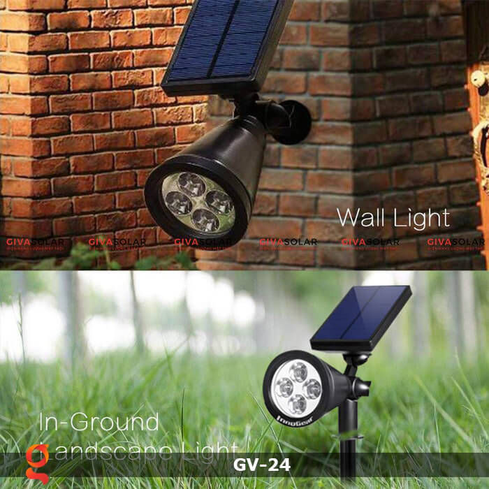 Đèn cắm thảm cỏ năng lượng mặt trời GV-24 2