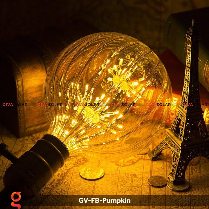 Đèn Led bulb bí ngô trang trí tiệc, sự kiện GV-FB-Pumpkin 1
