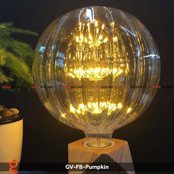 Đèn Led bulb bí ngô trang trí tiệc, sự kiện GV-FB-Pumpkin 4