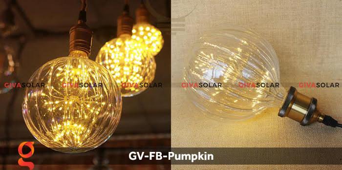 Đèn Led bulb bí ngô trang trí tiệc, sự kiện GV-FB-Pumpkin 7