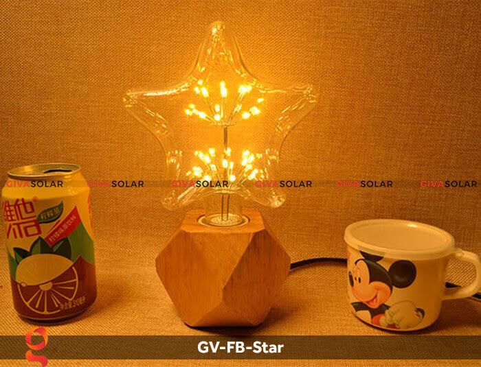 Led bulb hình ngôi sao trang trí tiệc, sự kiện GV-FB-Star 12