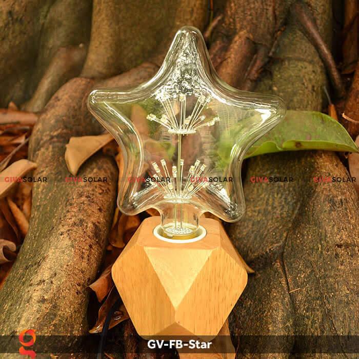 Led bulb hình ngôi sao trang trí tiệc, sự kiện GV-FB-Star 2