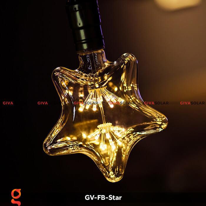 Led bulb hình ngôi sao trang trí tiệc, sự kiện GV-FB-Star 3