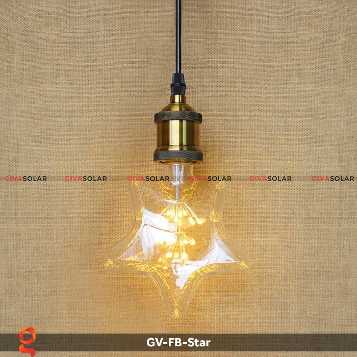 Led bulb hình ngôi sao trang trí tiệc, sự kiện GV-FB-Star 8