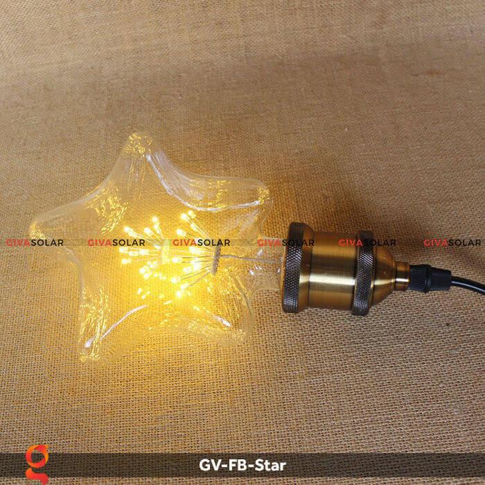 Led bulb hình ngôi sao trang trí tiệc, sự kiện GV-FB-Star 9
