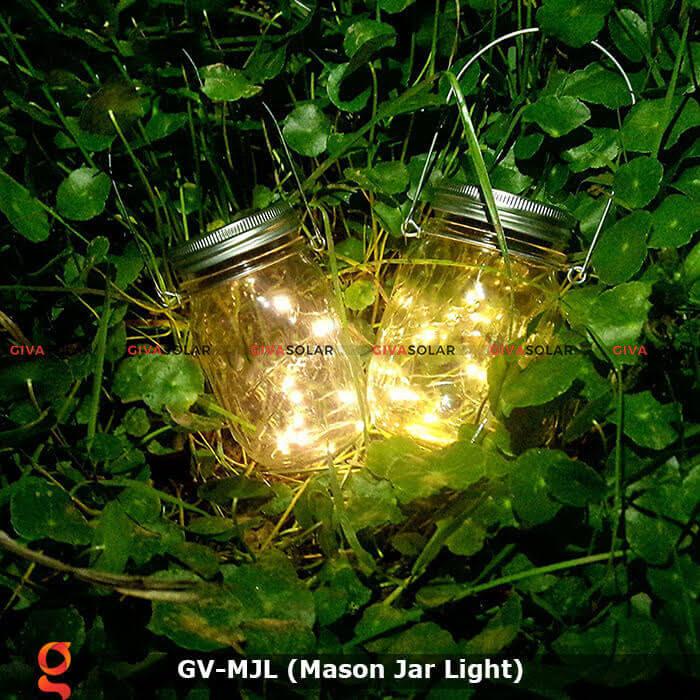 Lọ thủy tinh trang trí năng lượng mặt trời GV-MJL 1