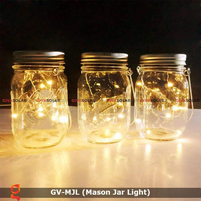 Lọ thủy tinh trang trí năng lượng mặt trời GV-MJL 11