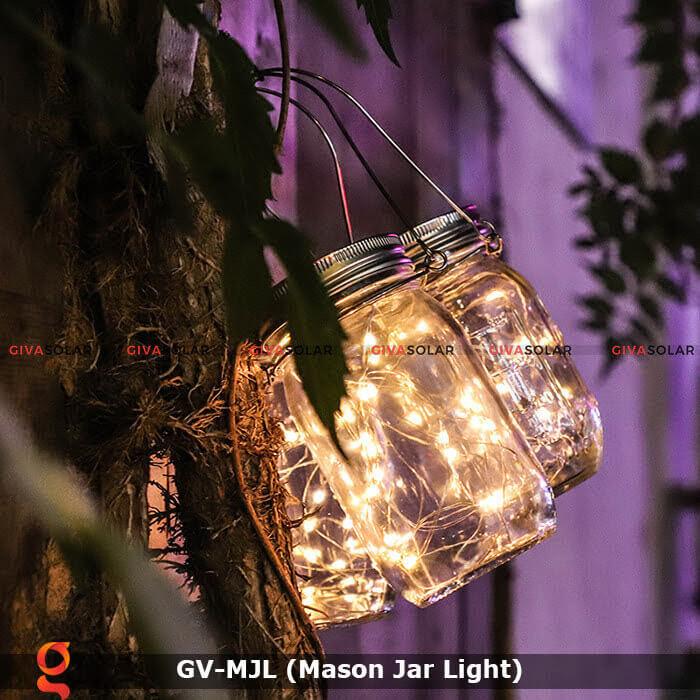 Lọ thủy tinh trang trí năng lượng mặt trời GV-MJL 19