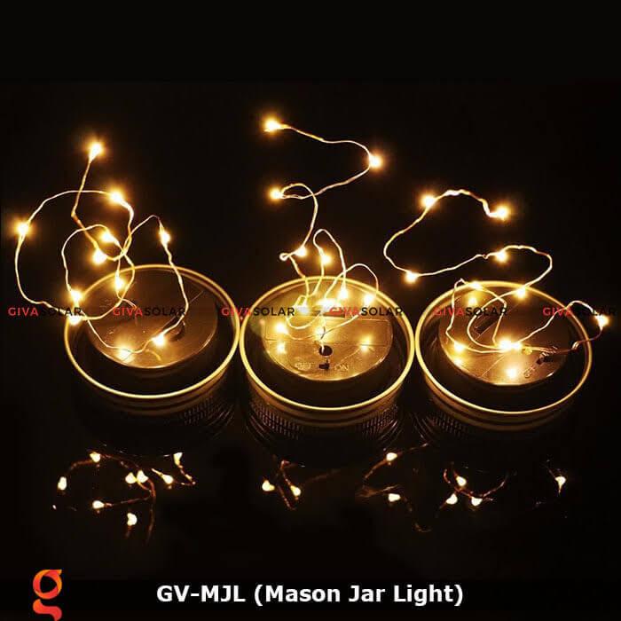 Lọ thủy tinh trang trí năng lượng mặt trời GV-MJL 4