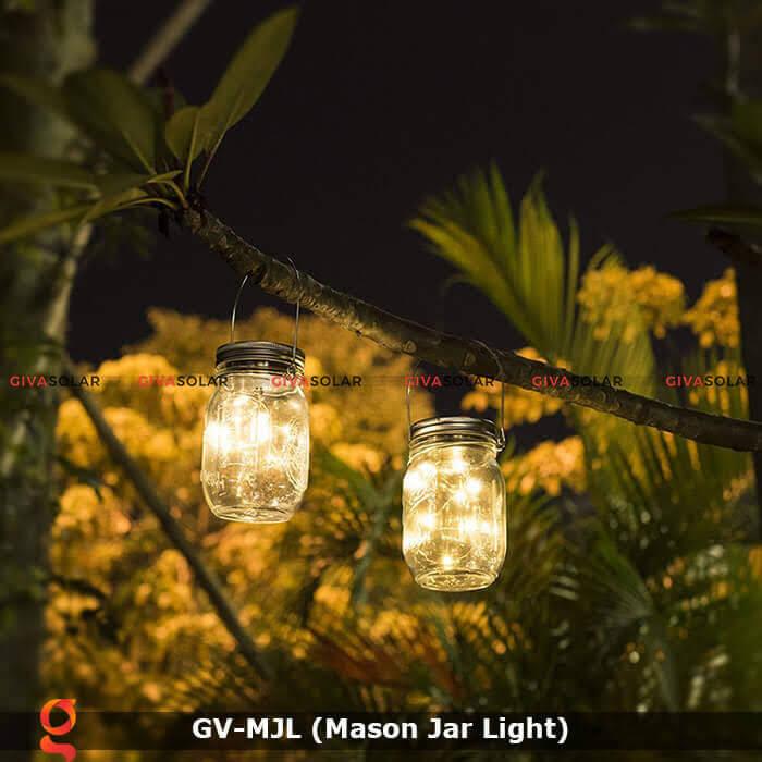 Lọ thủy tinh trang trí năng lượng mặt trời GV-MJL 5