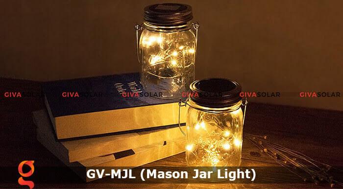 Lọ thủy tinh trang trí năng lượng mặt trời GV-MJL 8
