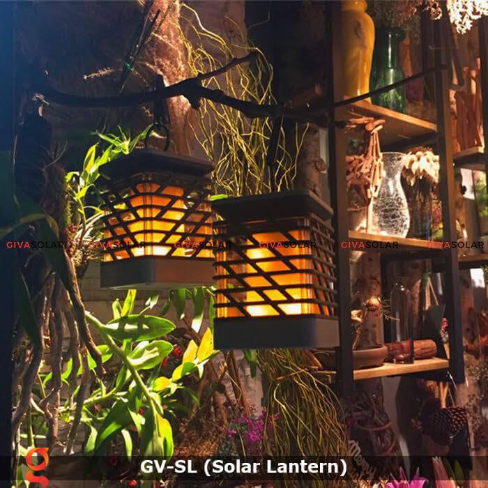 Lồng đèn trang trí năng lượng mặt trời GV-SL 1