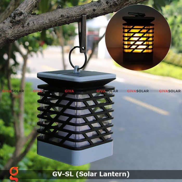 Lồng đèn trang trí năng lượng mặt trời GV-SL 14