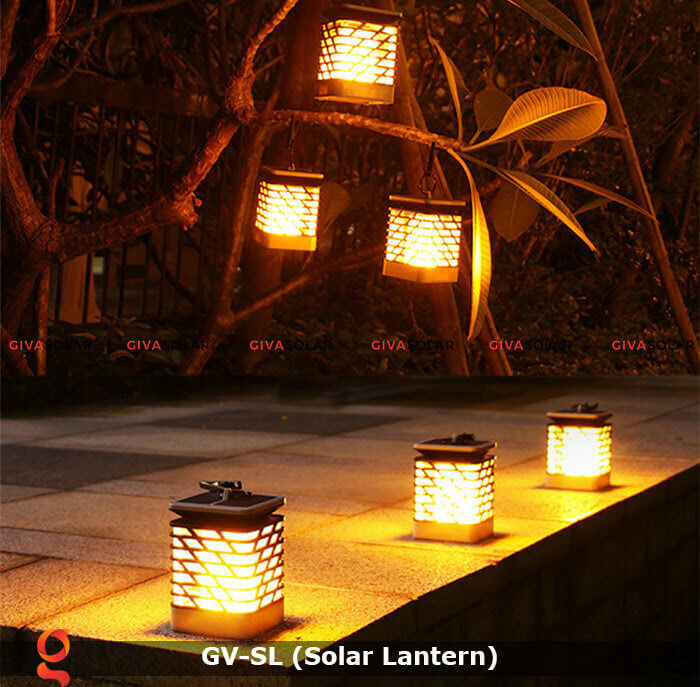 Lồng đèn trang trí năng lượng mặt trời GV-SL 2