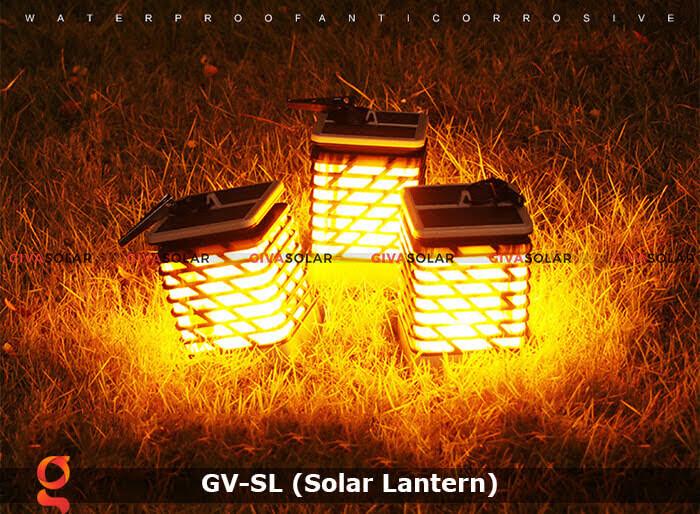 Lồng đèn trang trí năng lượng mặt trời GV-SL 3