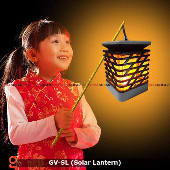 Lồng đèn trang trí năng lượng mặt trời GV-SL 4