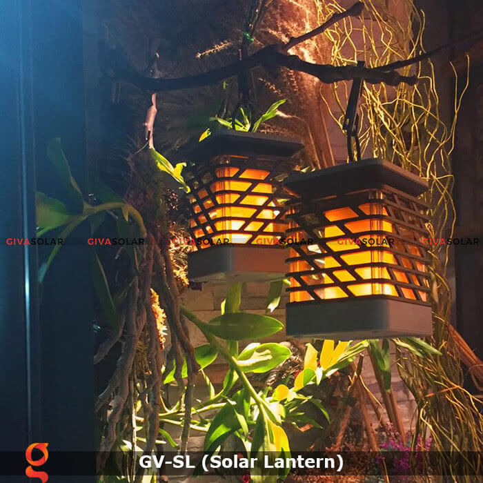 Lồng đèn trang trí năng lượng mặt trời GV-SL 5