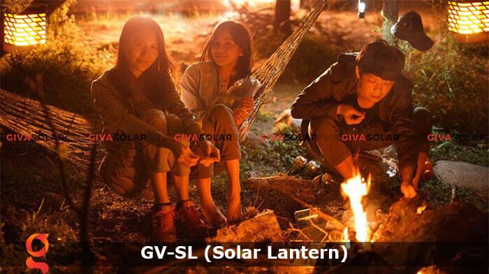 Lồng đèn trang trí năng lượng mặt trời GV-SL 6