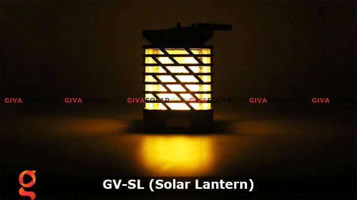 Lồng đèn trang trí năng lượng mặt trời GV-SL 9