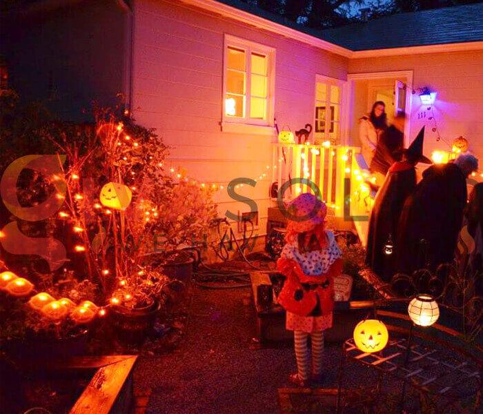 Mua đèn LED trang trí Halloween ở đâu 2