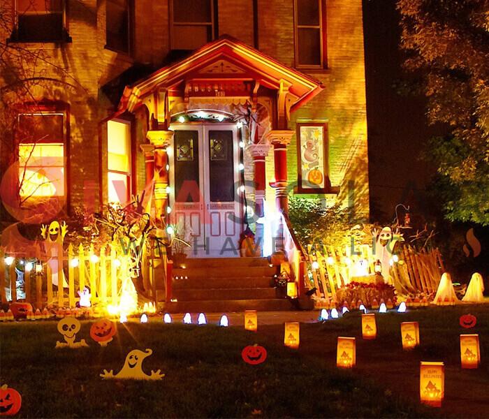 Mua đèn LED trang trí Halloween ở đâu?