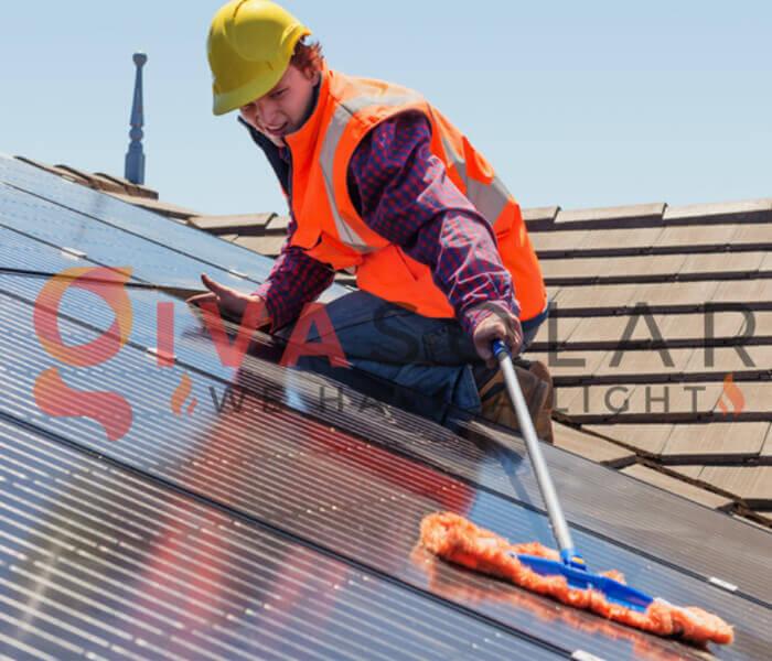 Tấm pin mặt trời yêu cầu bảo trì thấp