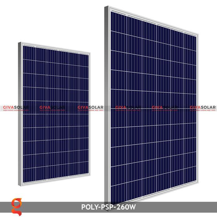 Tấm pin năng lượng mặt trời Poly PSP-260W 1