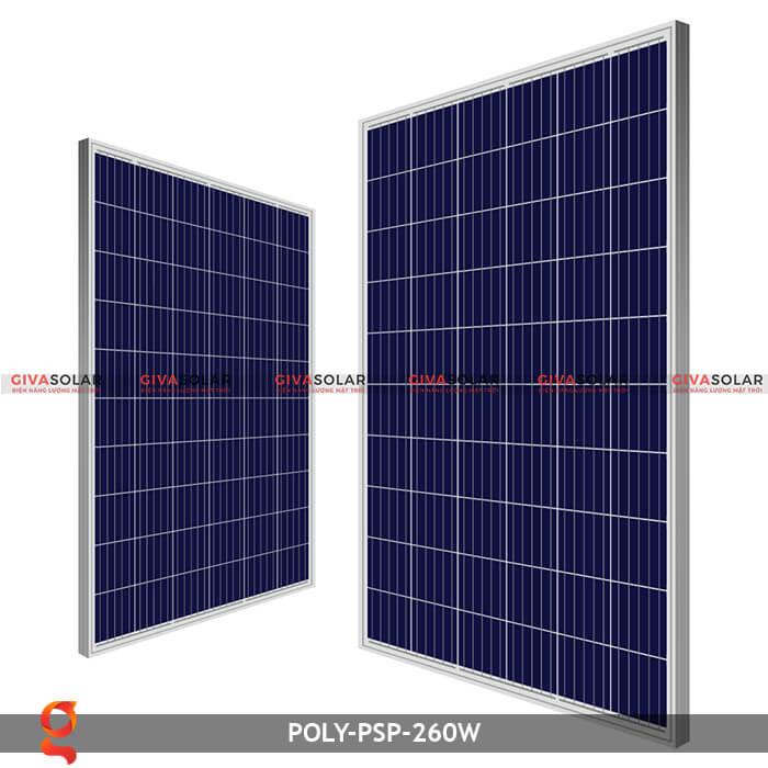 Tấm pin năng lượng mặt trời Poly PSP-260W 2