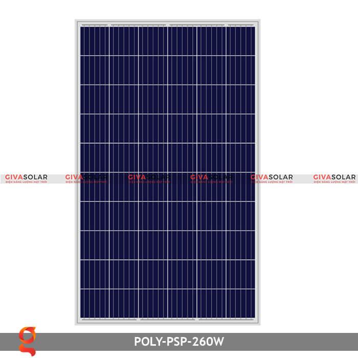 Tấm pin năng lượng mặt trời Poly PSP-260W 4
