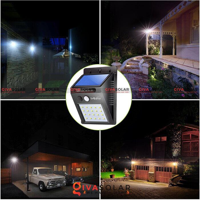 Tìm hiểu về đèn treo tường năng lượng mặt trời 6