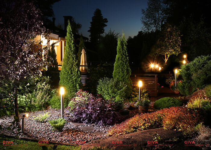 ưu nhược điểm đèn sân vườn năng lượng mặt trời 1