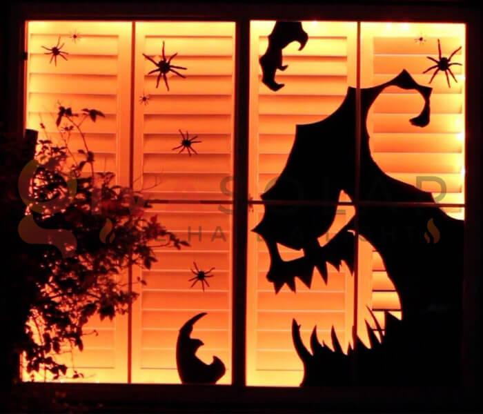 Ý tưởng sử dụng đèn trang trí Halloween 5