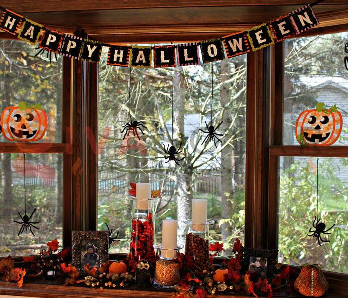 Ý tưởng sử dụng đèn trang trí Halloween 6