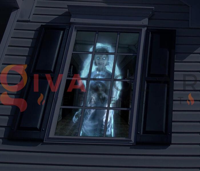 Ý tưởng sử dụng đèn trang trí Halloween 8