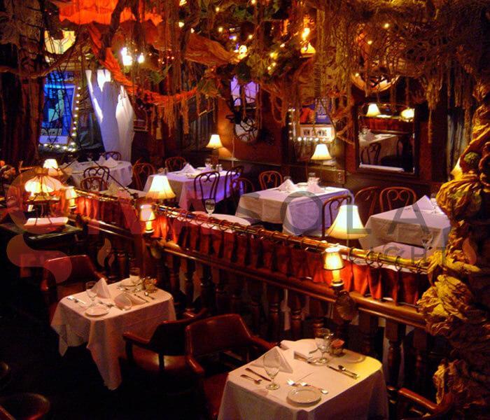 Ý tưởng trang trí Halloween cho nhà hàng, quán ăn 1