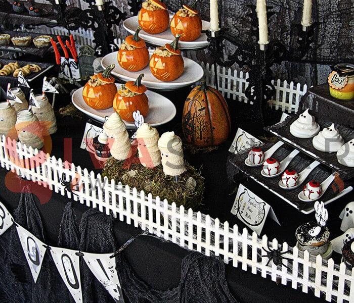 Ý tưởng trang trí Halloween cho nhà hàng, quán ăn 12