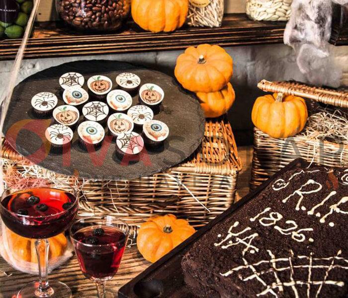 Ý tưởng trang trí Halloween cho nhà hàng, quán ăn 13