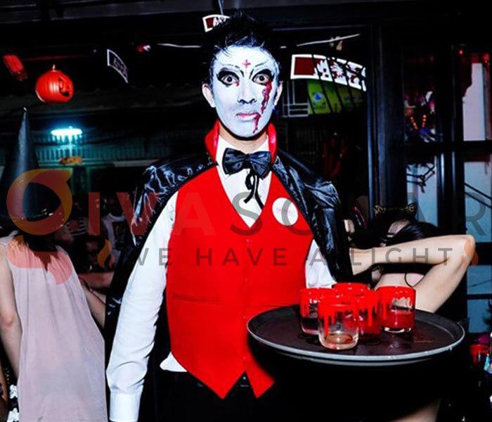 Ý tưởng trang trí Halloween cho nhà hàng, quán ăn 14