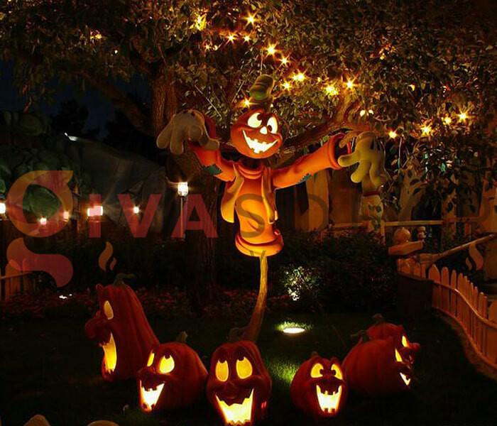 Ý tưởng trang trí Halloween cho nhà hàng, quán ăn 3